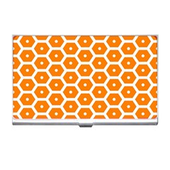 Golden Be Hive Pattern Business Card Holders