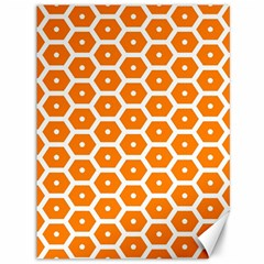Golden Be Hive Pattern Canvas 36  X 48