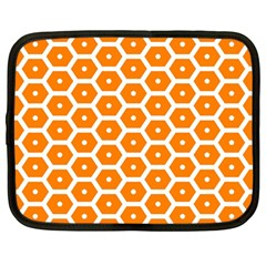 Golden Be Hive Pattern Netbook Case (large)