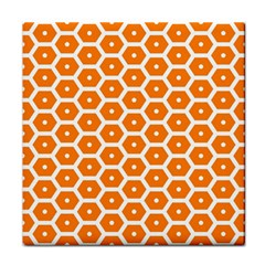 Golden Be Hive Pattern Face Towel