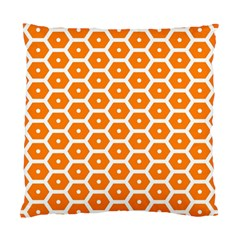 Golden Be Hive Pattern Standard Cushion Case (two Sides)