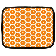 Golden Be Hive Pattern Netbook Case (xl)