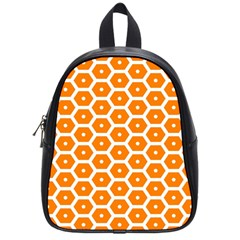 Golden Be Hive Pattern School Bags (small)
