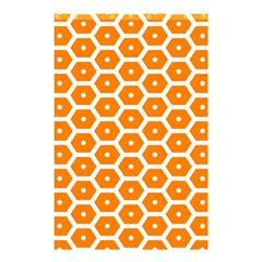 Golden Be Hive Pattern Shower Curtain 48  X 72  (small)