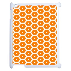 Golden Be Hive Pattern Apple Ipad 2 Case (white)