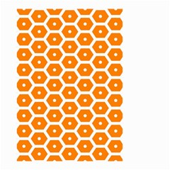Golden Be Hive Pattern Small Garden Flag (two Sides)
