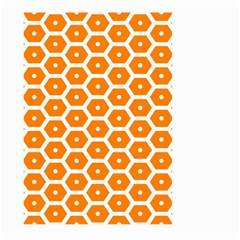 Golden Be Hive Pattern Large Garden Flag (two Sides)