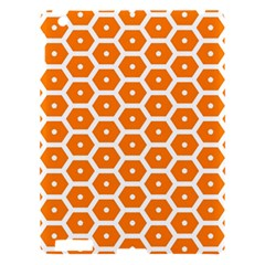 Golden Be Hive Pattern Apple Ipad 3/4 Hardshell Case