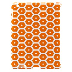 Golden Be Hive Pattern Apple Ipad 3/4 Hardshell Case (compatible With Smart Cover)