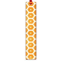 Golden Be Hive Pattern Large Book Marks