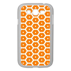 Golden Be Hive Pattern Samsung Galaxy Grand Duos I9082 Case (white)