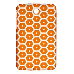 Golden Be Hive Pattern Samsung Galaxy Tab 3 (7 ) P3200 Hardshell Case