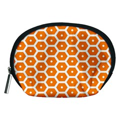 Golden Be Hive Pattern Accessory Pouches (medium)