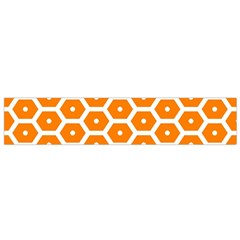 Golden Be Hive Pattern Flano Scarf (small)