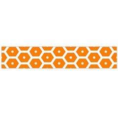 Golden Be Hive Pattern Flano Scarf (large)
