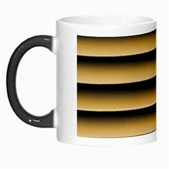 Golden Line Background Morph Mugs