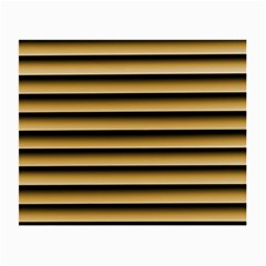 Golden Line Background Small Glasses Cloth
