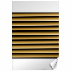 Golden Line Background Canvas 20  X 30