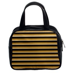 Golden Line Background Classic Handbags (2 Sides)