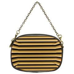 Golden Line Background Chain Purses (one Side)
