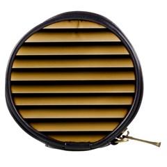 Golden Line Background Mini Makeup Bags