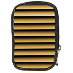 Golden Line Background Compact Camera Cases