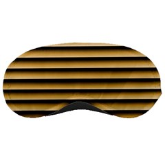 Golden Line Background Sleeping Masks