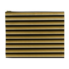 Golden Line Background Cosmetic Bag (xl)
