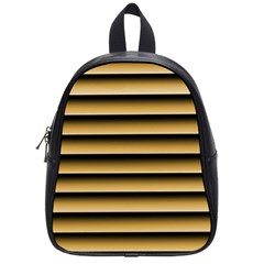 Golden Line Background School Bags (small)