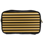 Golden Line Background Toiletries Bags 2-Side Front
