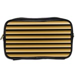 Golden Line Background Toiletries Bags 2-Side Back