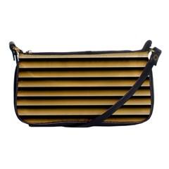 Golden Line Background Shoulder Clutch Bags