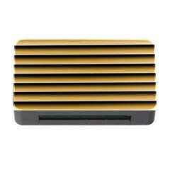 Golden Line Background Memory Card Reader With Cf
