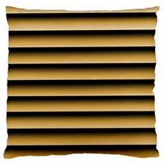 Golden Line Background Large Cushion Case (One Side)