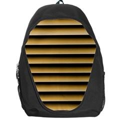 Golden Line Background Backpack Bag