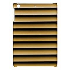 Golden Line Background Apple Ipad Mini Hardshell Case