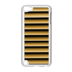 Golden Line Background Apple Ipod Touch 5 Case (white)