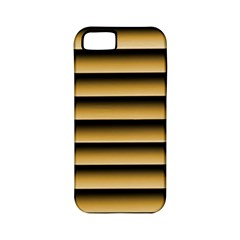 Golden Line Background Apple Iphone 5 Classic Hardshell Case (pc+silicone)