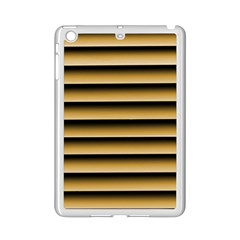 Golden Line Background Ipad Mini 2 Enamel Coated Cases