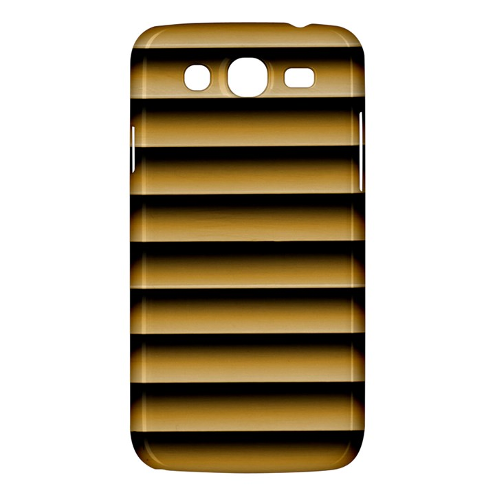 Golden Line Background Samsung Galaxy Mega 5.8 I9152 Hardshell Case