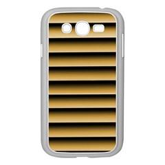 Golden Line Background Samsung Galaxy Grand Duos I9082 Case (white)