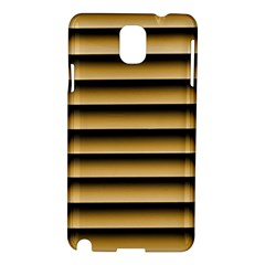 Golden Line Background Samsung Galaxy Note 3 N9005 Hardshell Case