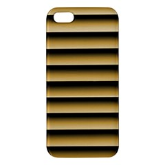 Golden Line Background Iphone 5s/ Se Premium Hardshell Case