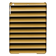 Golden Line Background Ipad Air Hardshell Cases