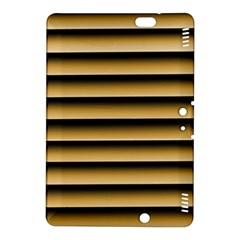 Golden Line Background Kindle Fire Hdx 8 9  Hardshell Case