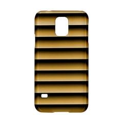 Golden Line Background Samsung Galaxy S5 Hardshell Case