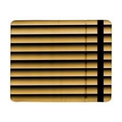 Golden Line Background Samsung Galaxy Tab Pro 8 4  Flip Case