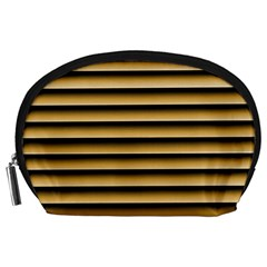Golden Line Background Accessory Pouches (large)