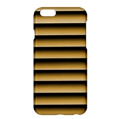 Golden Line Background Apple Iphone 6 Plus/6s Plus Hardshell Case