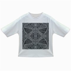 Gray Psychedelic Background Infant/toddler T Shirts